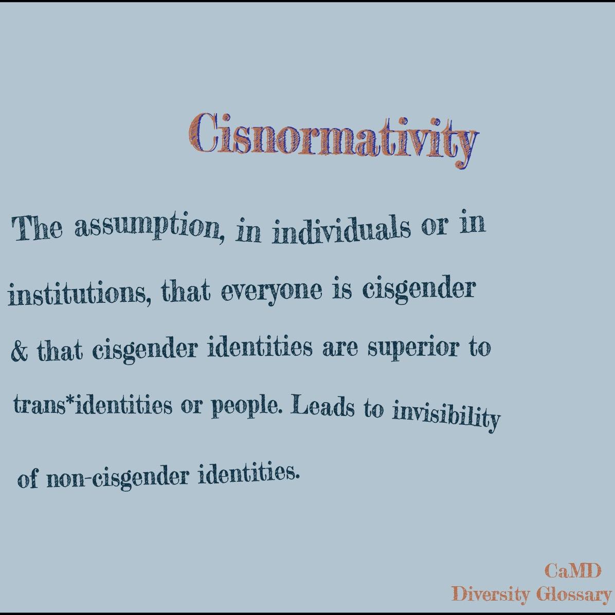 cisnormativity